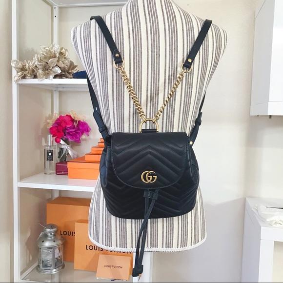 9222ff65113e2c Gucci Handbags - New Gucci 2.0 mini marmont backpack